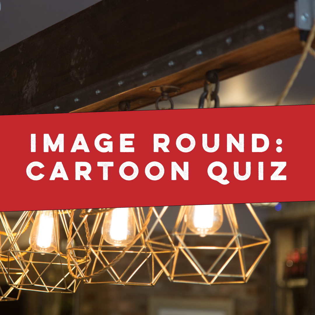 Cartoon Image Quiz Round